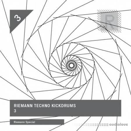 Riemann Kollektion Techno Kickdrums 3 WAV