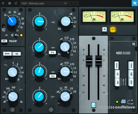 NoiseAsh Need 31102 Console EQ v1.0 WiN MacOSX