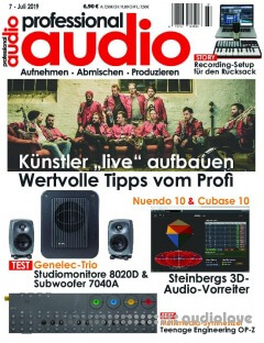 Professional Audio Juli 2019