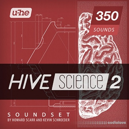 u-he Howard Scarr and Kevin Schroeder Hive Science 2 Soundset Synth Presets