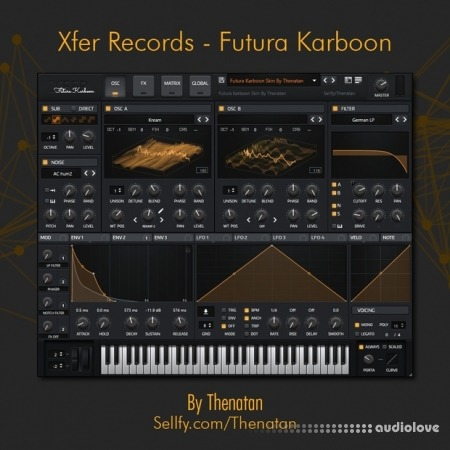 Thenatan Xfer Records Futura Karboon