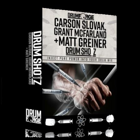 Drumforge Drumshotz Carson Slovak Grant McFarland and MattGriener