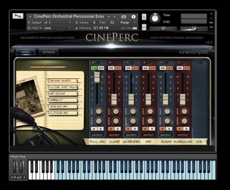 Cinesamples CinePerc v1.3 KONTAKT