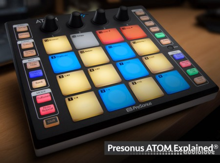 Groove3 Presonus ATOM Explained TUTORiAL