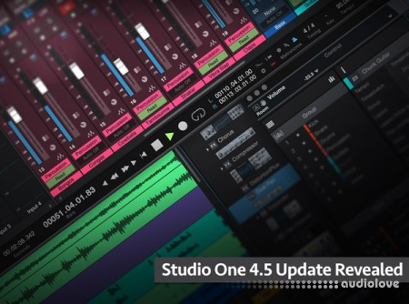 Groove3 Studio One 4.5 Update Revealed TUTORiAL