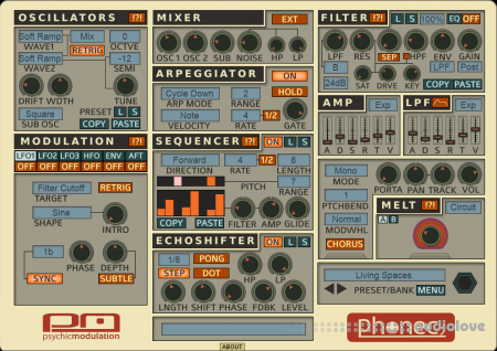 Psychic Modulation Phonec v2.2 WiN MacOSX