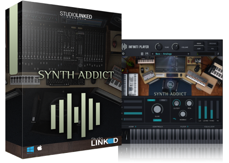 StudioLinkedVST Infiniti Expansion Synth Addict