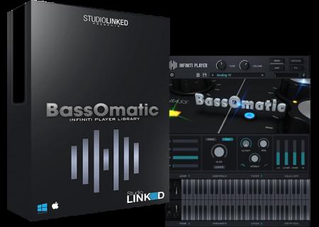 StudioLinkedVST Infiniti Expansion BassOmatic WiN MacOSX