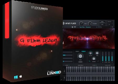 StudioLinkedVST Infiniti Expansion G-Funk Leads