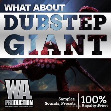 WA Production Dubstep Giant WAV MiDi Synth Presets DAW Templates