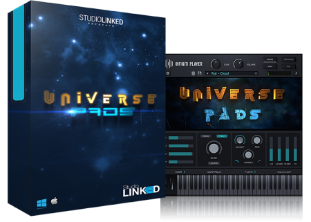 StudioLinkedVST Infiniti Expansion Universe Pads Library WiN MacOSX