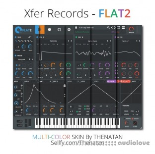 Thenatan Xfer Records Flat2 Multi Color