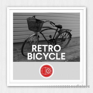 Big Room Sound Retro Bicycle
