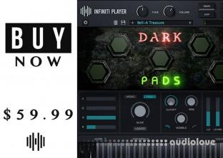 StudioLinkedVST Infiniti Expansion Dark Pads Library