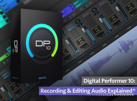 Groove3 Digital Performer 10 Recording and Editing Audio Explained TUTORiAL