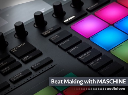 Groove3 Beat Making with MASCHINE TUTORiAL