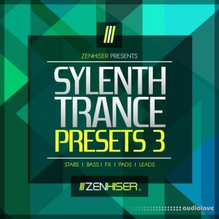 Zenhiser Sylenth Trance Presets 3 WAV Synth Presets