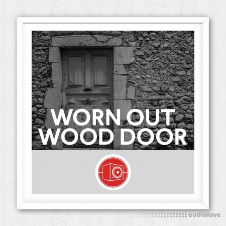 Big Room Sound Worn Out Wood Door