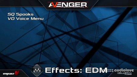 Vengeance Sound Avenger Expansion pack Effects EDM Synth Presets