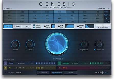 AudioBro Genesis Childrens Choir v1.0.0 KONTAKT