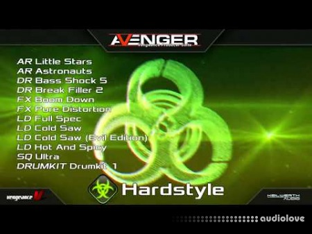 Vengeance Sound Avenger Expansion pack Hardstyle 1 Synth Presets