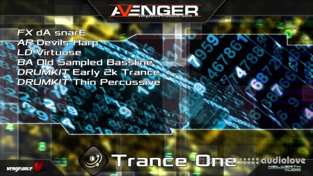 Vengeance Sound Avenger Expansion pack Trance One