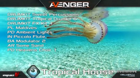 Vengeance Sound Avenger Expansion pack Tropical House Synth Presets