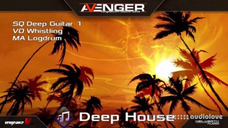 Vengeance Sound Avenger Expansion pack Deep House Synth Presets