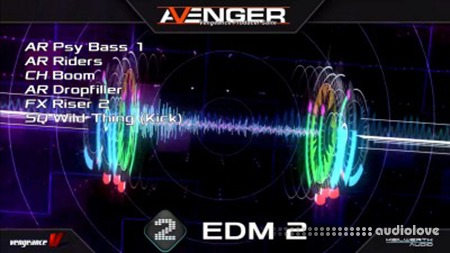 Vengeance Sound Avenger Expansion pack EDM2 Synth Presets