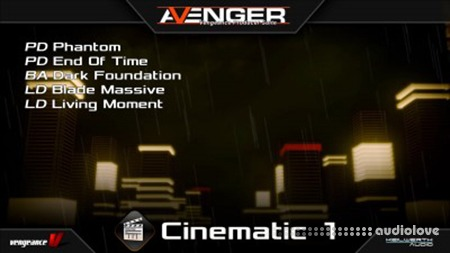 Vengeance Sound Avenger Expansion pack Cinematic 1 Synth Presets