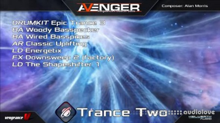 Vengeance Sound Avenger Expansion pack Trance Two Synth Presets