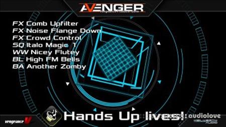 Vengeance Sound Avenger Expansion pack HandsUp Lives! Synth Presets