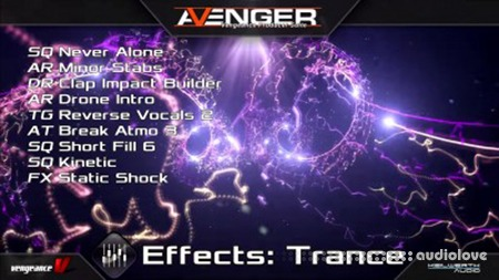 Vengeance Sound Avenger Expansion pack Effects Trance Synth Presets
