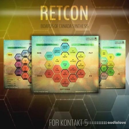 Audiowarp Retcon Boards Of Canada Complete KONTAKT