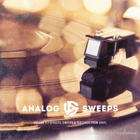 The Drum Broker Analog Sweeps Vol.3 Effects Sweeps and Textures from Vinyl WAV