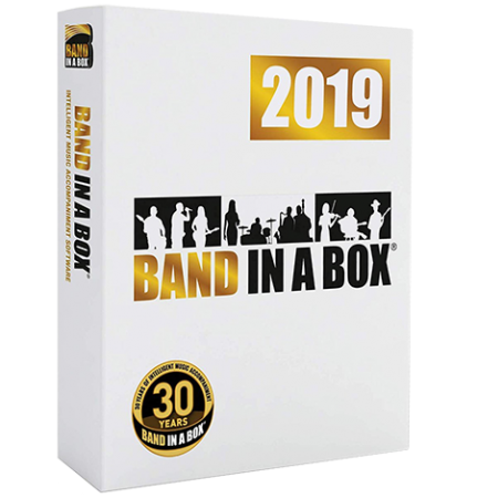 PG Music Band-in-a-Box 2019 with RealBand 2019 UPDATES (Build 632) WiN