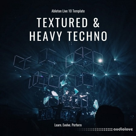 SINEE Ableton Live Template Textured and Heavy Techno DAW Templates