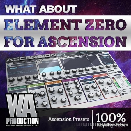 WA Production Element Zero Expansion Synth Presets