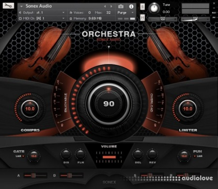 Sonex Audio Strings Solo KONTAKT