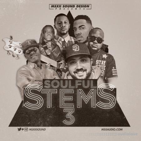 MSXII Audio Soulful Stems Vol.3 WAV