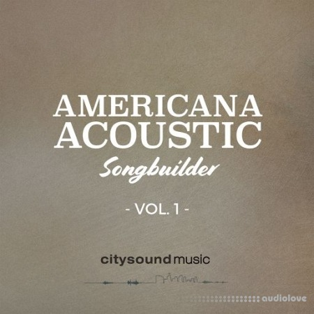 Citysound Americana Acoustic Songs Builder Vol.1 WAV