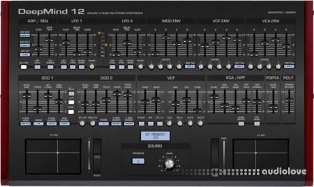 Behringer Deepmind 12 VST editor Controller