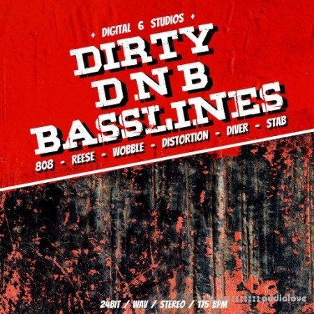 6Blocc Dirty DNB Basslines WAV