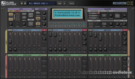 Plugin Boutique VirtualCZ v1.1.1 WiN MacOSX