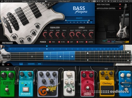 Waves Bass Fingers Library SD HD v1.0