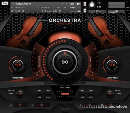 Sonex Audio Strings Ensemble KONTAKT