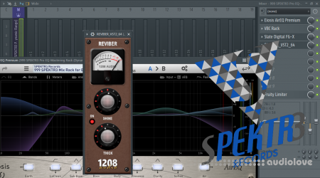 SPEKTR3 Reviber Config and FL Studio Mixer Preset DAW Presets Plugins Presets