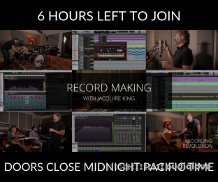 recordingrevolution Record Making with Jacquire King