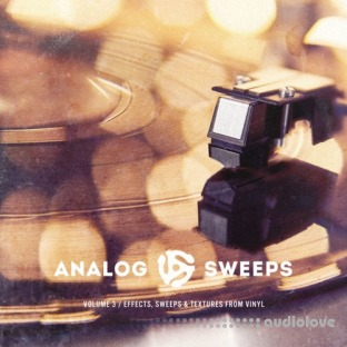 The Drum Broker Analog Sweeps Vol.3 Effects Sweeps and Textures from Vinyl
