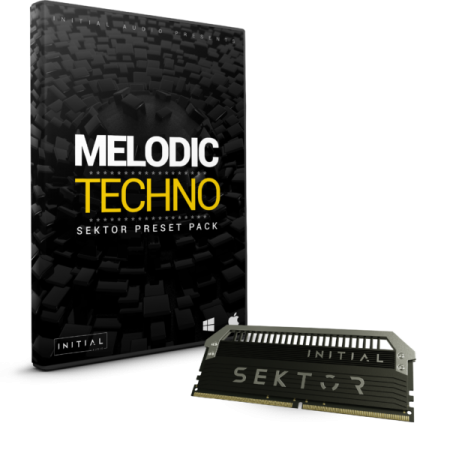 Initial Audio Melodic Techno SEKTOR EXPANSION Synth Presets